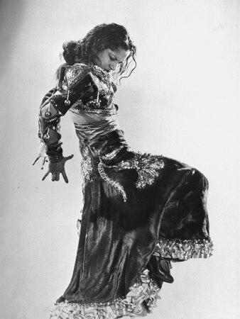 Carmen Amaya Spanish Flamenco Dancer