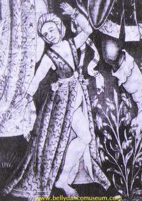 Early Gypsy Dancer