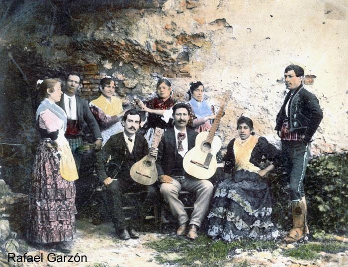 Group of Gitanos Bilaores